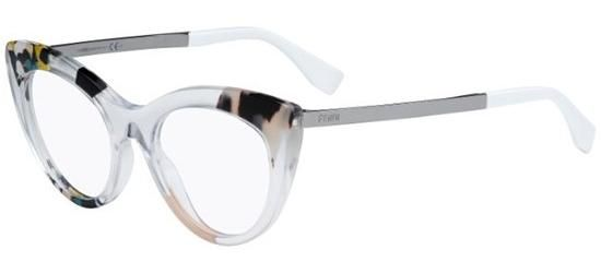 128f1fe9ed69 ... glasses with prescription lenses at SmartBuyGlasses United States of  America. Fendi JUNGLE FF 0157 CRYSTAL MULTICOLOR RUTHENIUM
