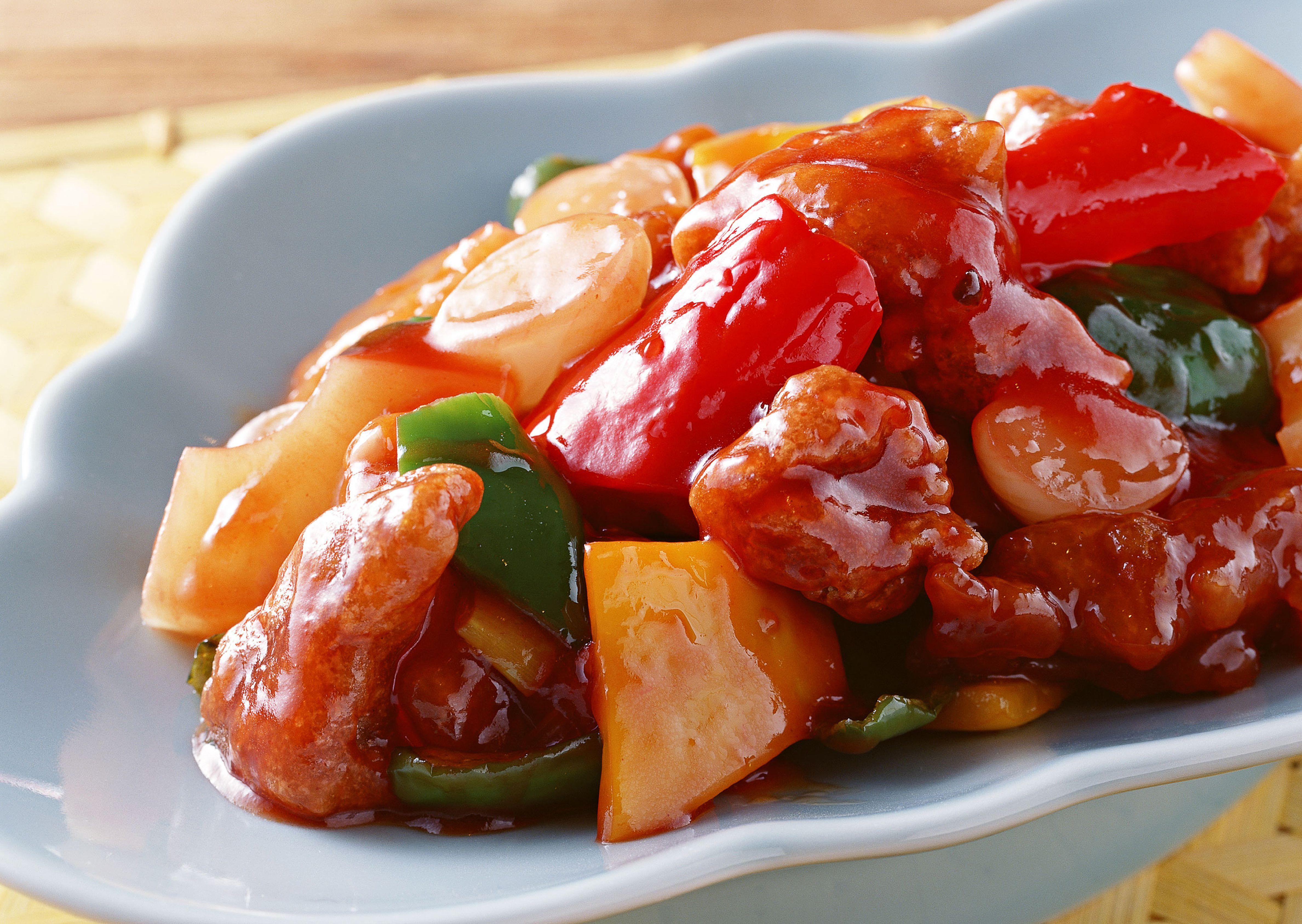 Sweet and Sour Pork (咕噜肉或古老肉 Gu lu Rou / Gu Lao Rou ... |Guangdong Sweet And Sour Pork