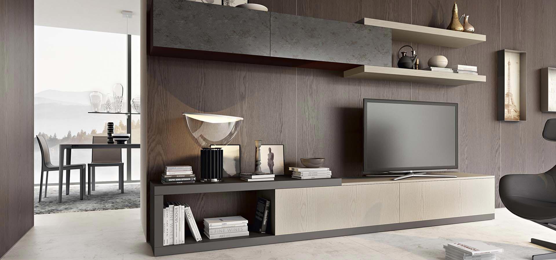 Pin di arredo3 su collezione giorno arredo3 modern wall for Pitture per saloni