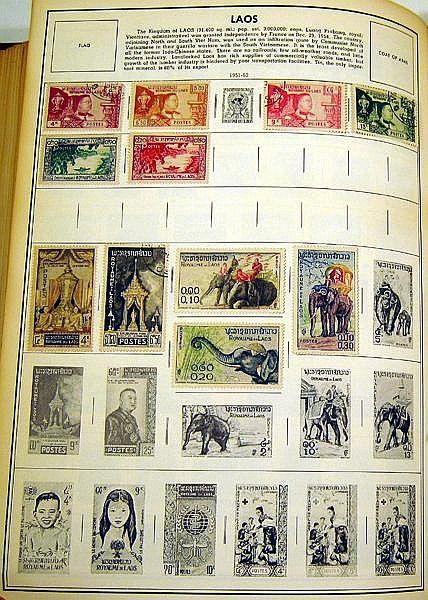 Citation Stamp Album H  E  Harris STAMP ALBUMS Spi - by National