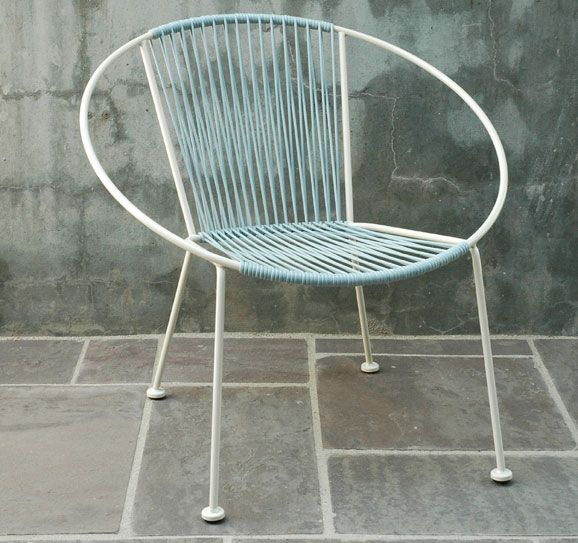 Plain Air Outdoor Hoop Chair   Love This