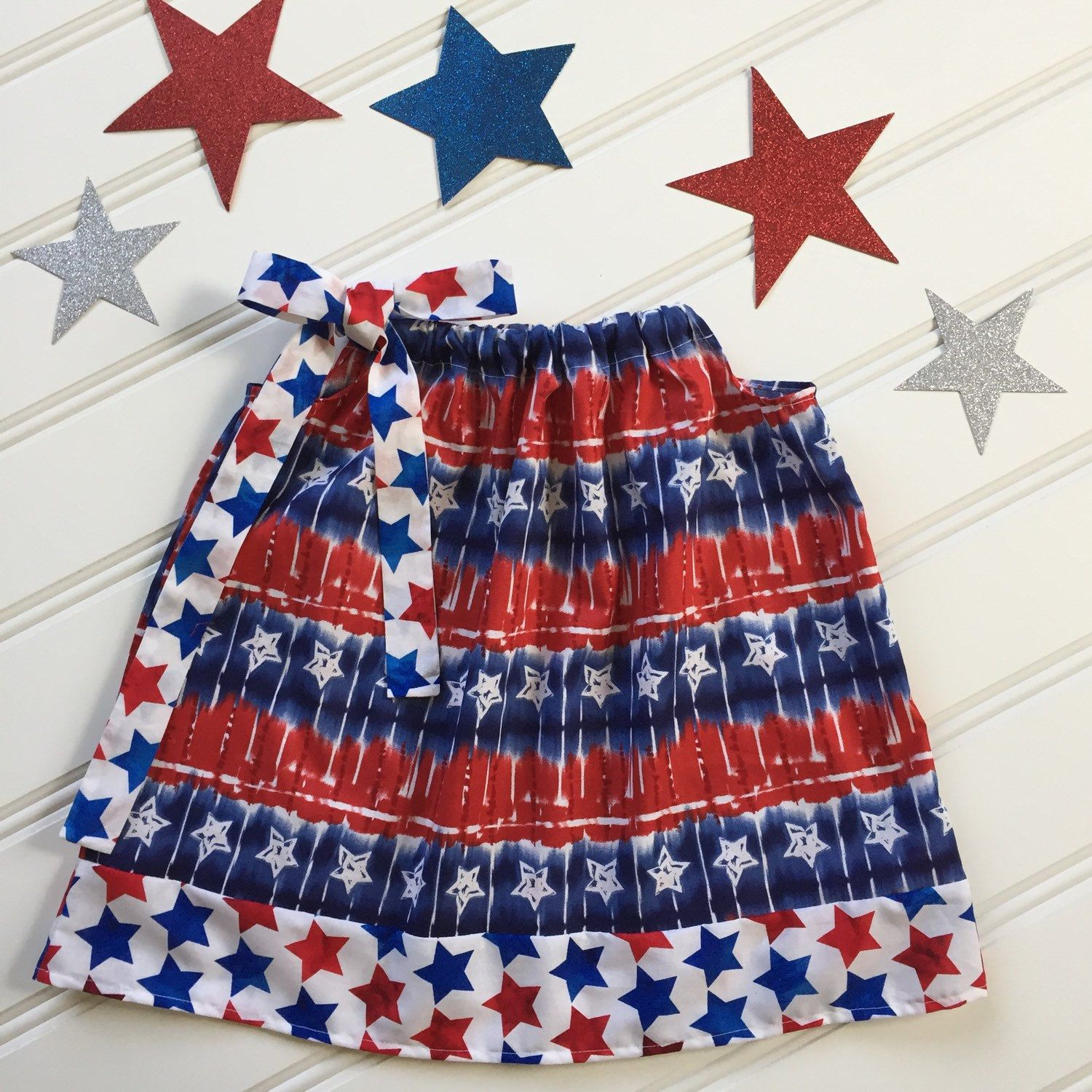 4th of July is near!  Love the Red, White and Blue!