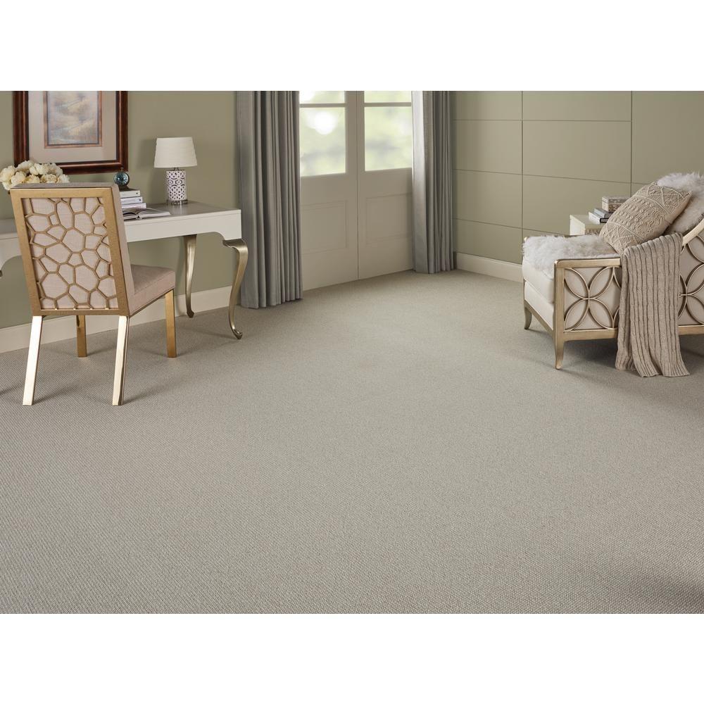 Natural Harmony Sand Harbor Color Dew Ivory Loop 12 Ft Carpet 148179 The Home Depot Home Carpet Grey Carpet