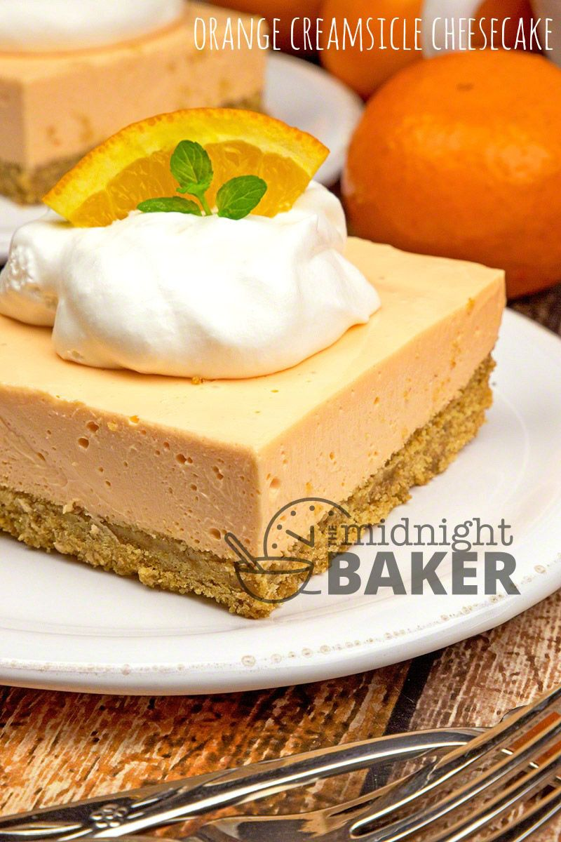 Creamsicle Cheesecake Bars pictures