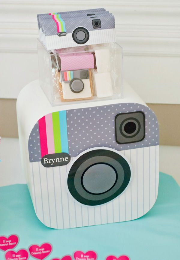 Teenage Instagram Models: Cute & Clever Instagram Birthday Party