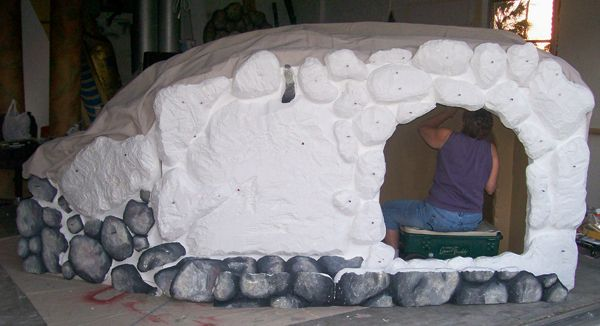 Making A Styrofoam Easter Tomb Prop Church Design