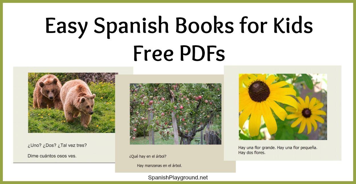 Easy Spanish Books Pdf For Kids Spanish Books For Kids Learning