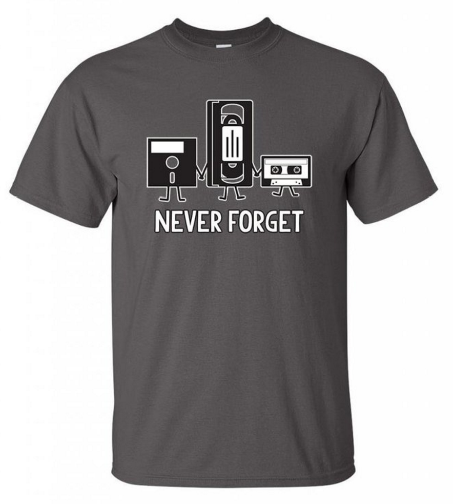 funny retro tech shirt