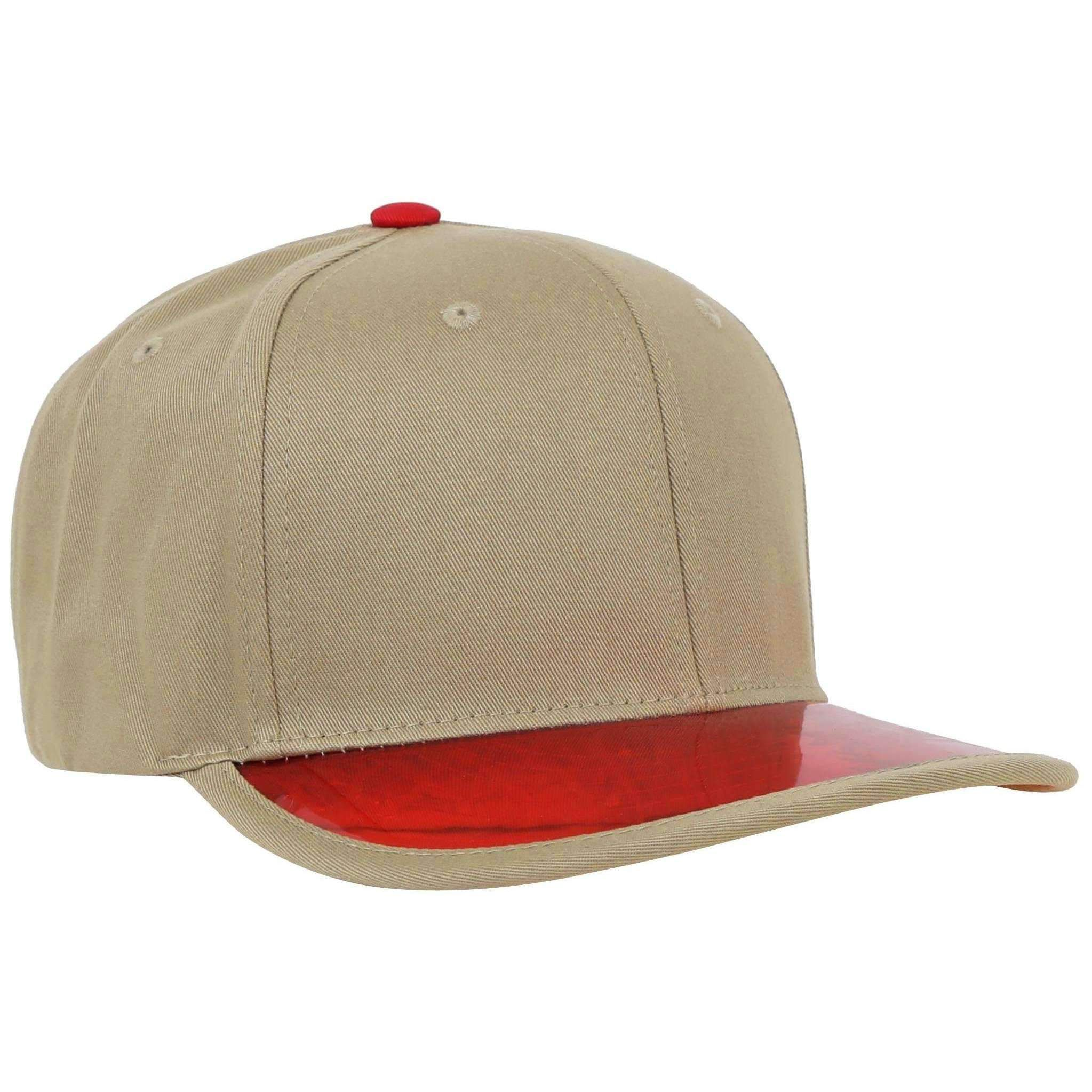 Plain Adjustable Snapback with UV Protection