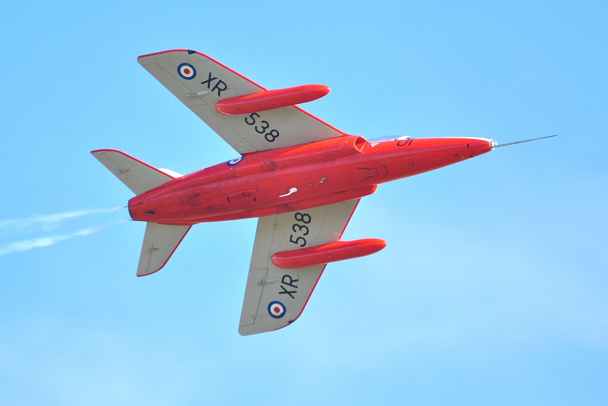 In Britain, when pursuing a fast jet career, pilots were trained for 70 hours on the Gnat.