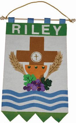 First Communion Banner Kits Includes Precut Shapes Ready