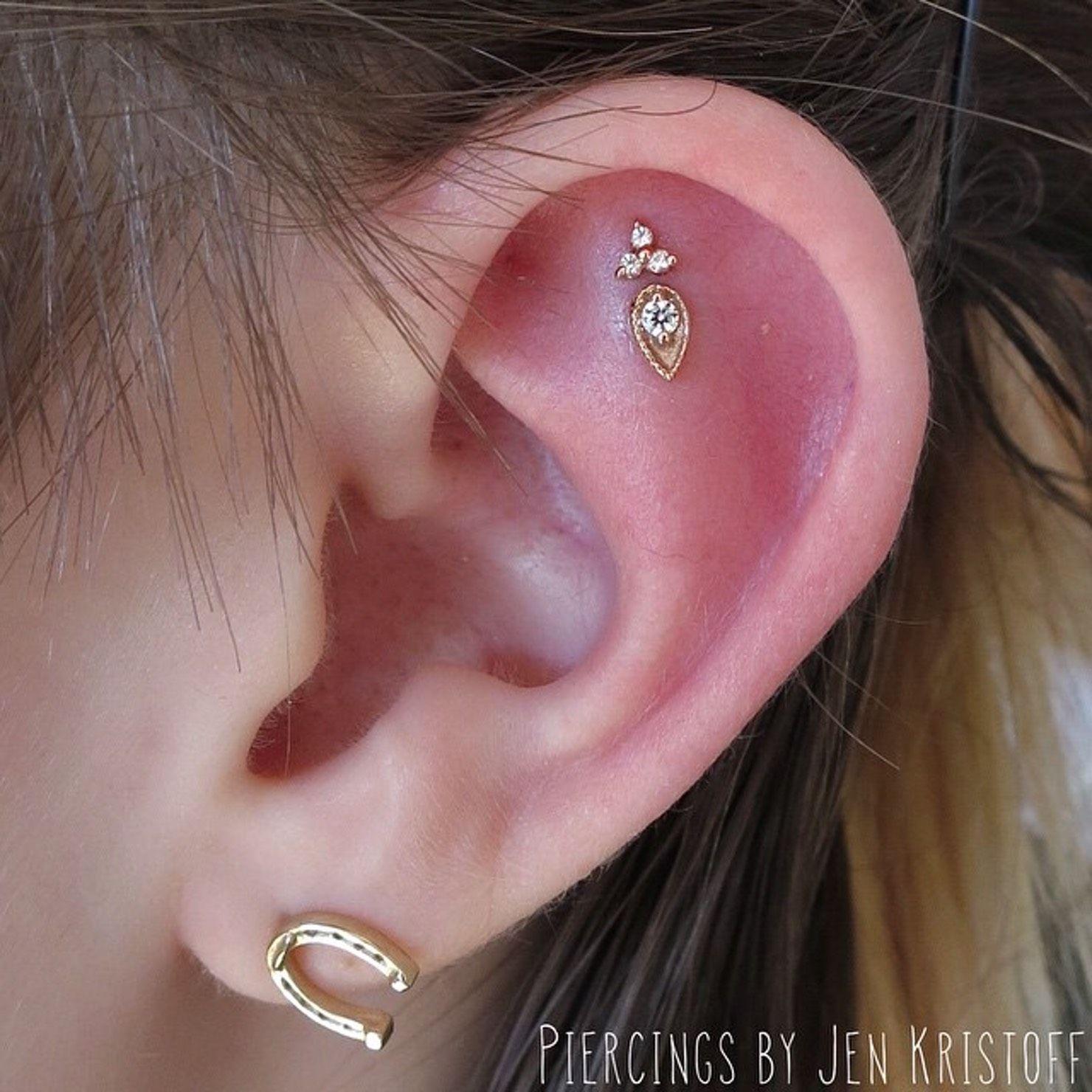 Piercing nose at home   Excuses To Buy More Earrings  Piercings Unique ear piercings