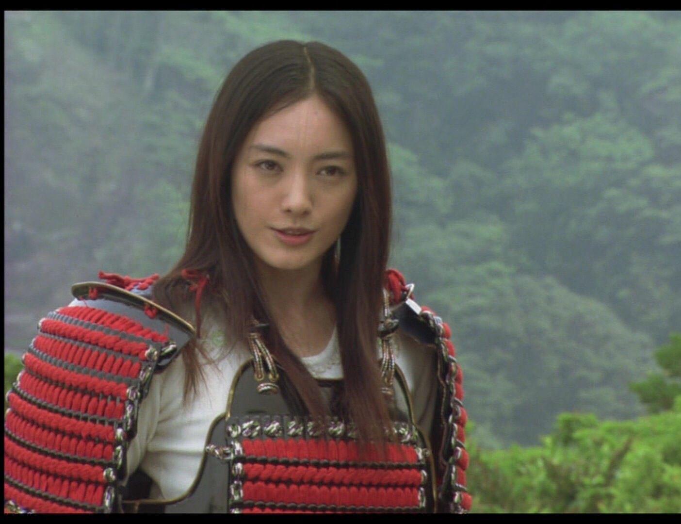 武士の仲間由紀恵さん