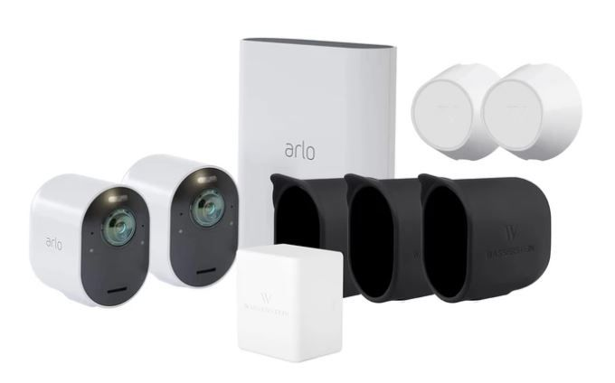 Check out this Arlo Ultra 2Pack Camera Kit (VMS5240