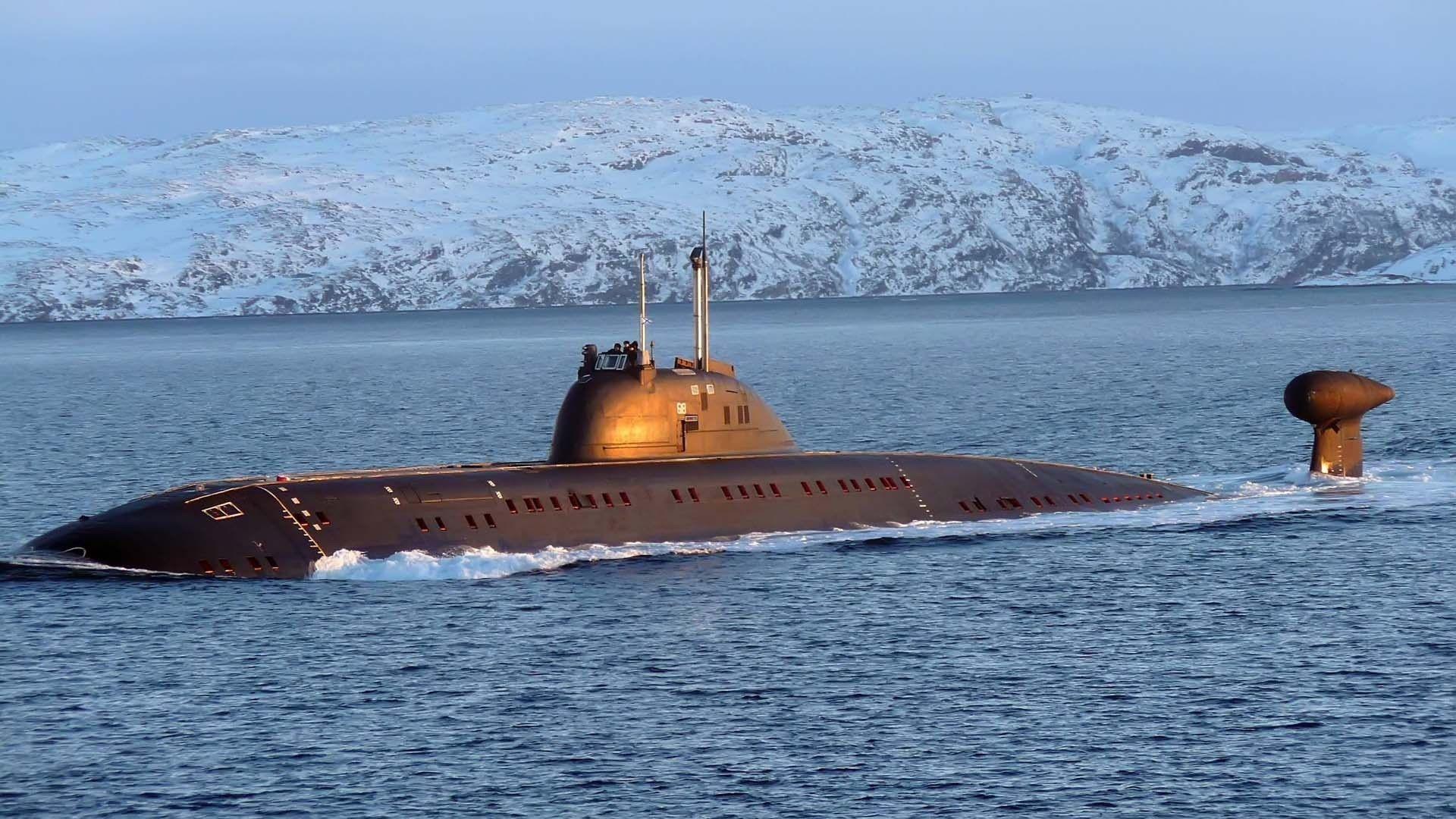 victor iii, northern fleet | russian submarines | russian