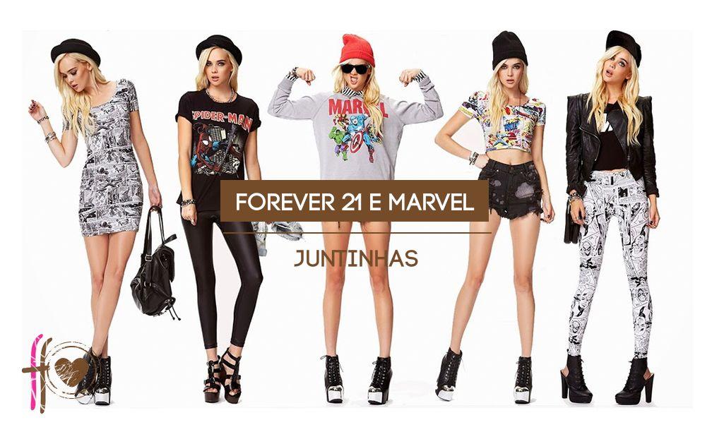 Forever 21 e Marvel juntinhas
