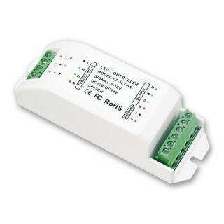 0 10v Led Dimmer 3 Kanal Pwm 12 24v Dc 15a Rgb Rgbw Led Controller Led Dimmer Led Usb