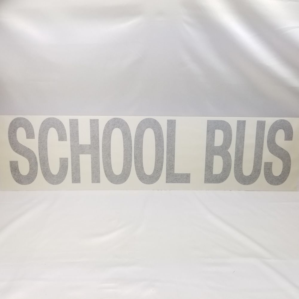 1 School Bus Decal Front Items For Sale On Ebay By Amazing Stuff