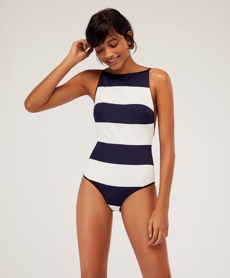 Badpak Nederland.Badpak Met Bold Strepen Badpakken Badkleding En Beachwear