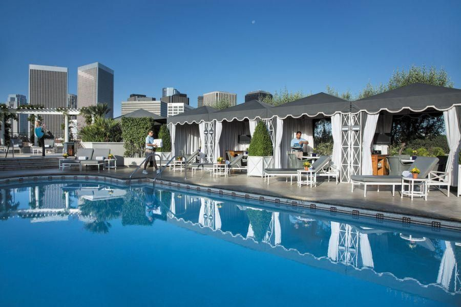 Here in Beverly Hills, relaxation is an art form and the hotels on ...
