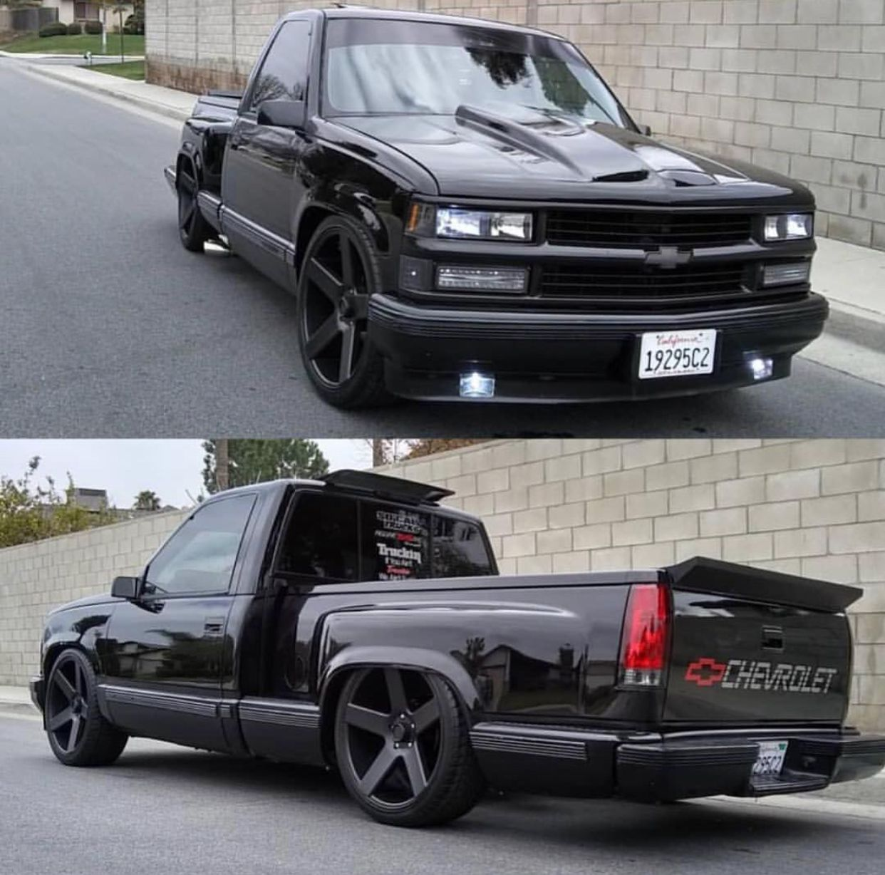 trocas 1994 chevy silverado custom silverado chevy stepside bagged trucks c10 trucks [ 1242 x 1228 Pixel ]