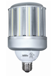 Mills 120w Led Corn Light 400w Equal Replacement Hid Retrofit Lamp 14400 Lumens Dlc Qualified Led Lamp Light