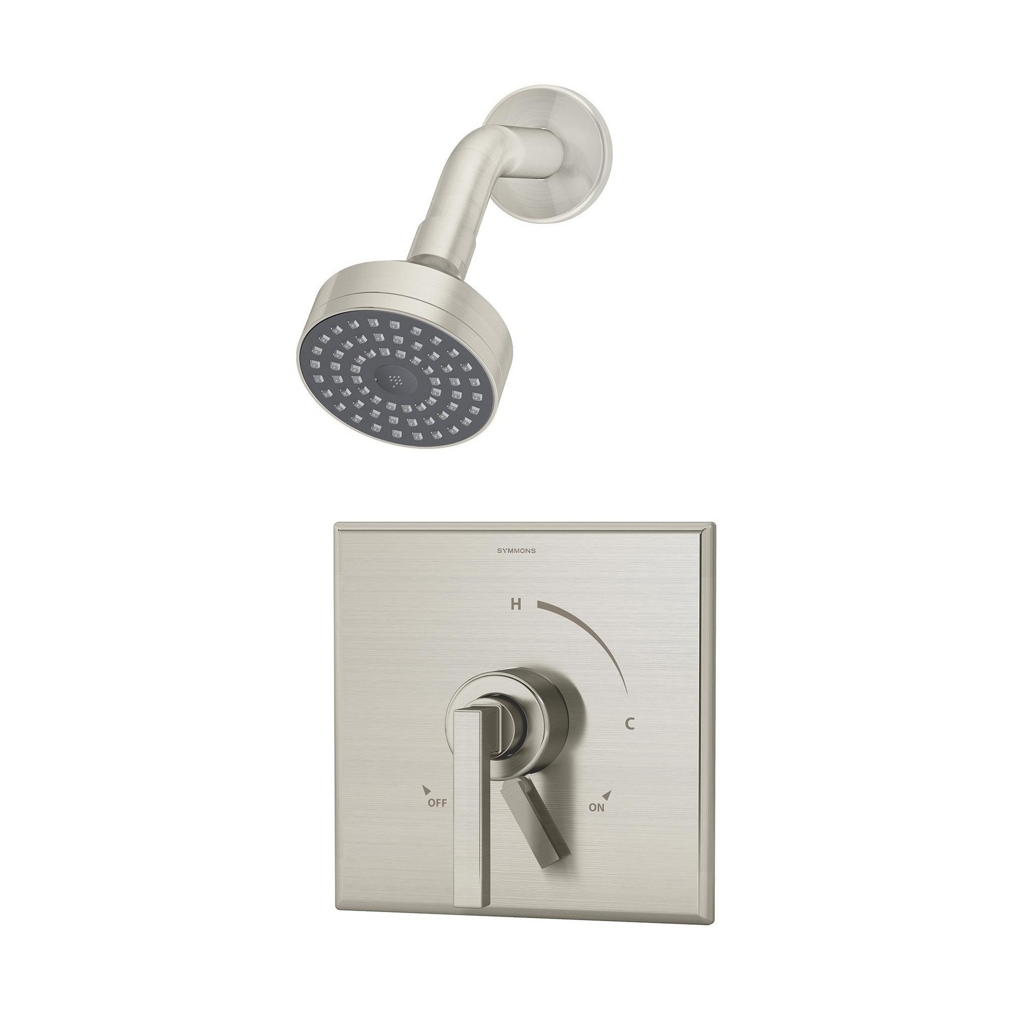Symmons S 3601 1 5 Trm Duro Shower Only Trim Package With 1 5 Gpm