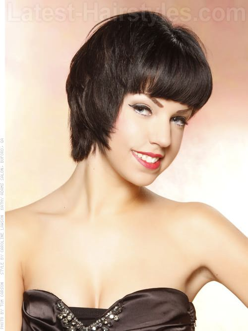 10 Classic Short Hairstyles for Thin Hair   Latest-Hairstyles.com ...