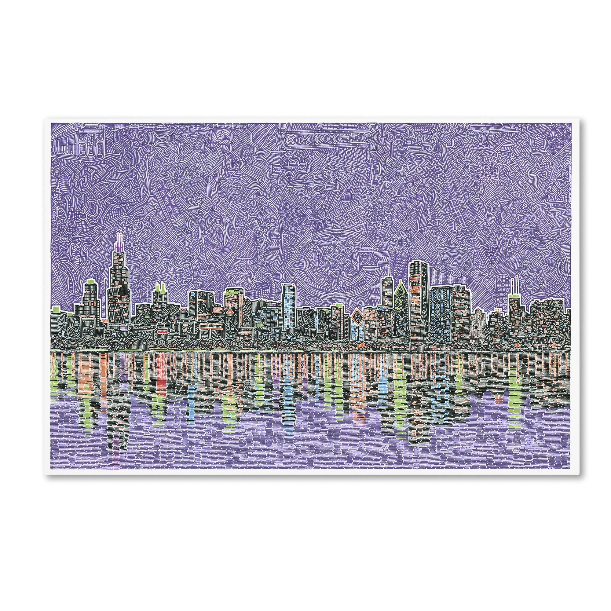 Viz Art Ink 'Chicagoland' Canvas Art 16 x 24