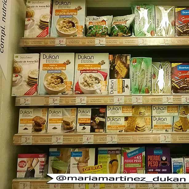 Comprar pasta Dukan en Alcampo, Hipercor y Carrefour (no