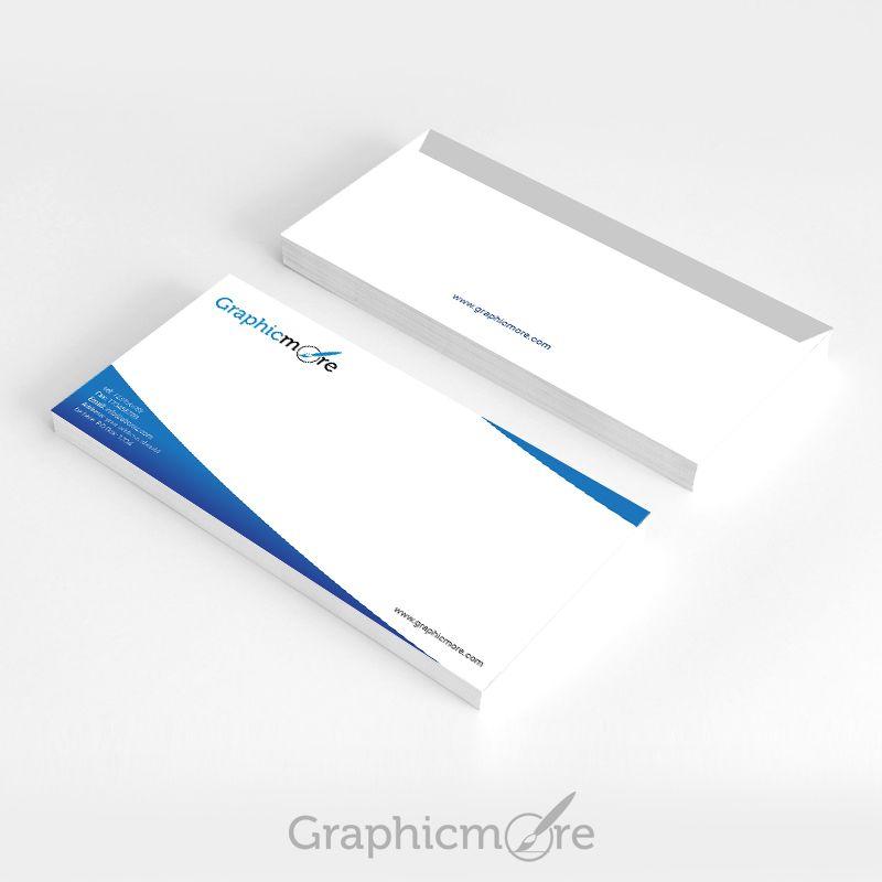 Blue Corporate Envelope Design Free Psd Blue Businessenvelope Cleanenvelope Companyenvelope Corporateenv Envelope Design Free Design Business Envelopes