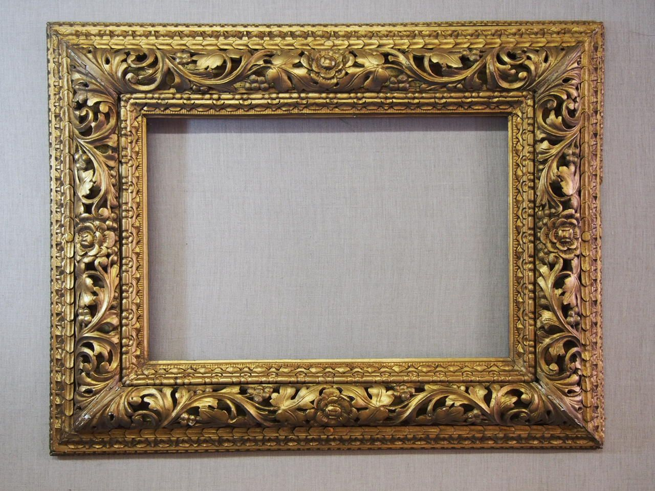 Florentine Carved Frame 19th Century Gold Picture Frames Antique Picture Frames Mirror Frames