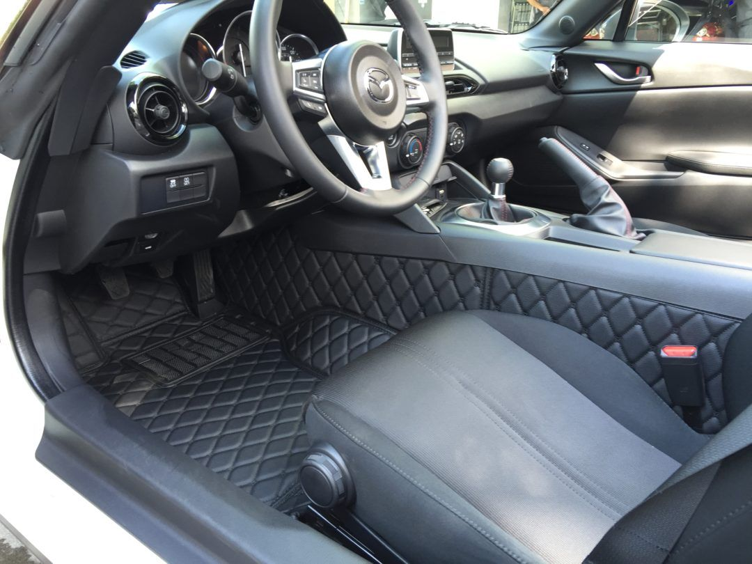 mats floor car tbdesign mazda sport