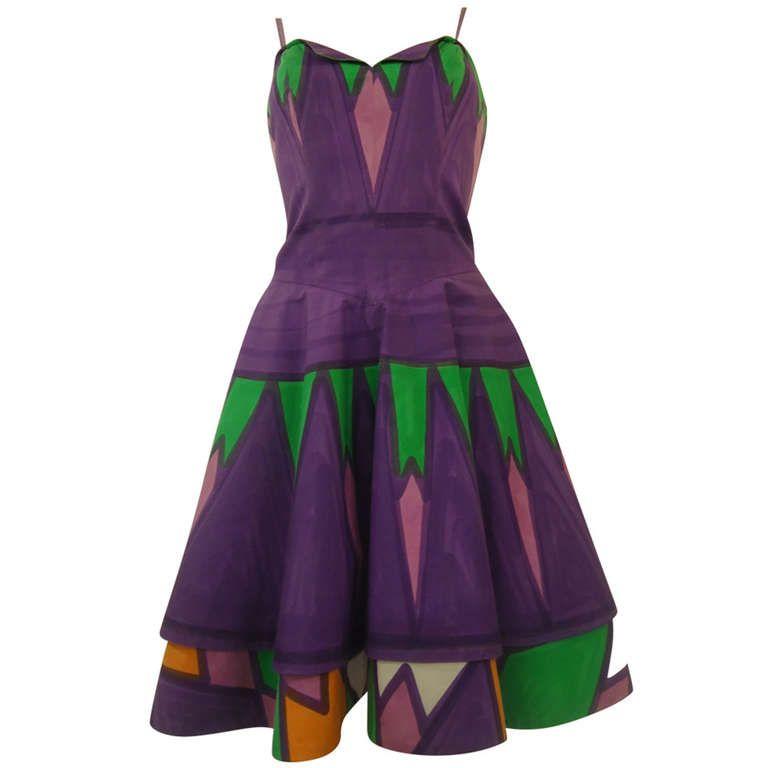 Livio De Simone Multicolored Dress
