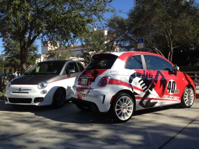 Check Out Our Custom Fiat Abarth Wraps Fiat Abarth Fiat