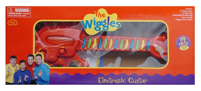 The Wiggles Guitar The Wiggles Toys Games Costumes Gifts The