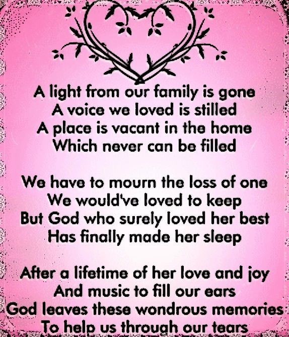 Quotes Death - In loving memory of my Mom 5/24/14. This will be my ...