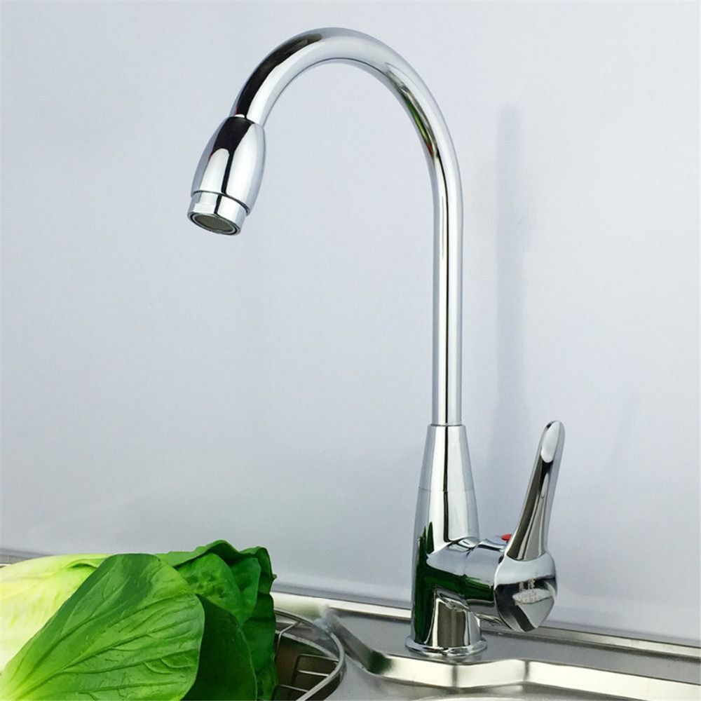 Grand Superior in Quality Kitchen Faucet Chrome Polished Ceramic ...