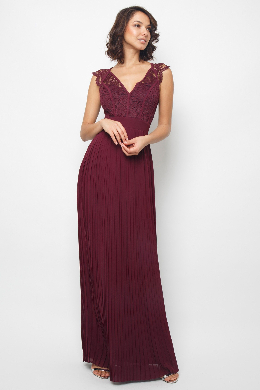 a428292ff0ea9 TFNC SHANNON GRAPE WINE MAXI DRESS | TFNC PARTY DRESSES | The ...
