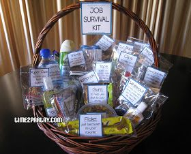 Gift Basket Job Survival Kit