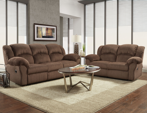 Magnificent Affordable Furniture Aspen Chocolate Reclining Sofa Ncnpc Chair Design For Home Ncnpcorg