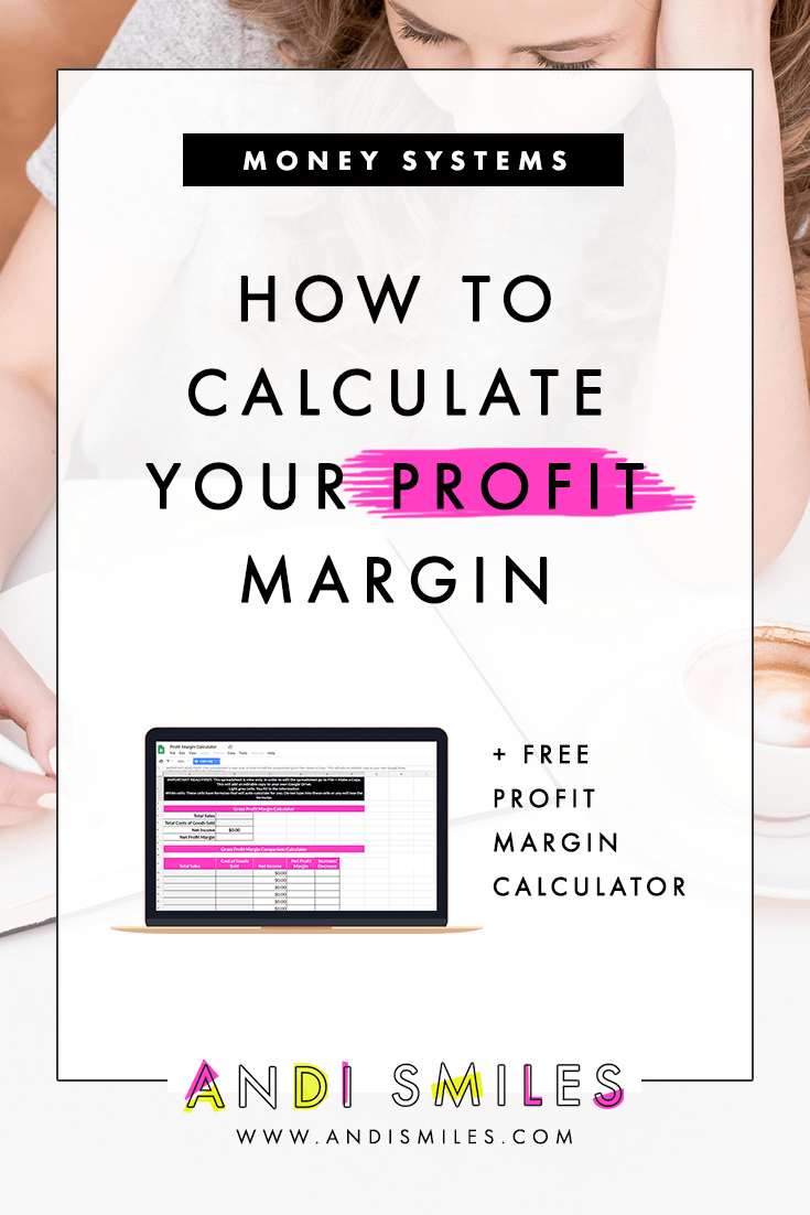 How To Calculate Your Profit Margin Start Up Business Financial