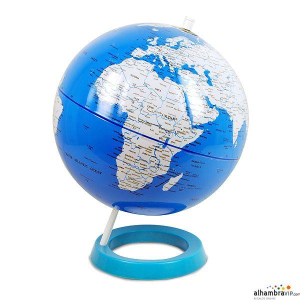 Bola del mundo azul decoraci n alhambravip pinterest - Bola del mundo decoracion ...
