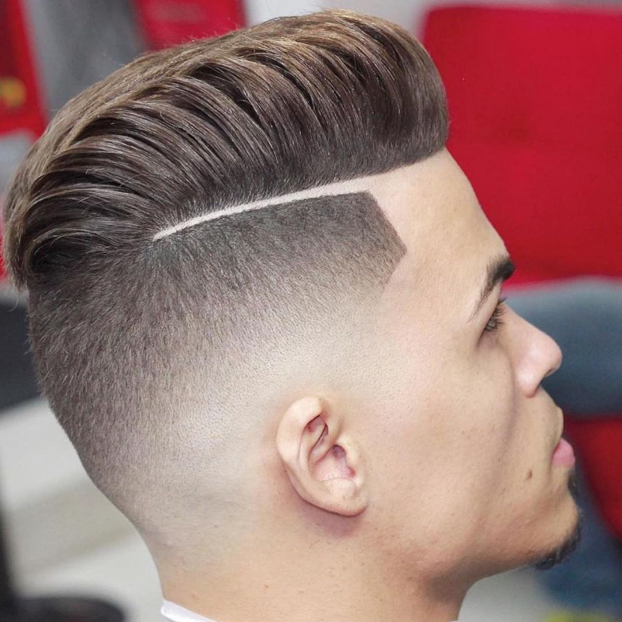 72 Comb Over Fade Haircut Designs Styles Ideas Design Trends Within Elegant  Mens Haircut Comb Over Fade