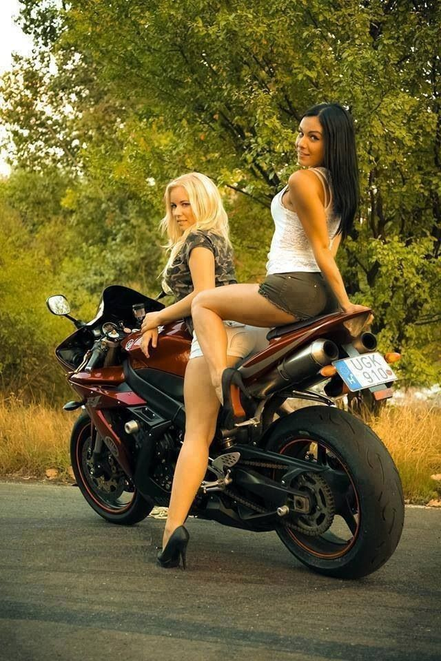 Motorcycle threesome pics does