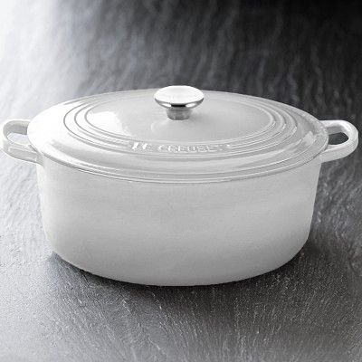 Le Creuset Signature Cast Iron Oval Dutch Oven