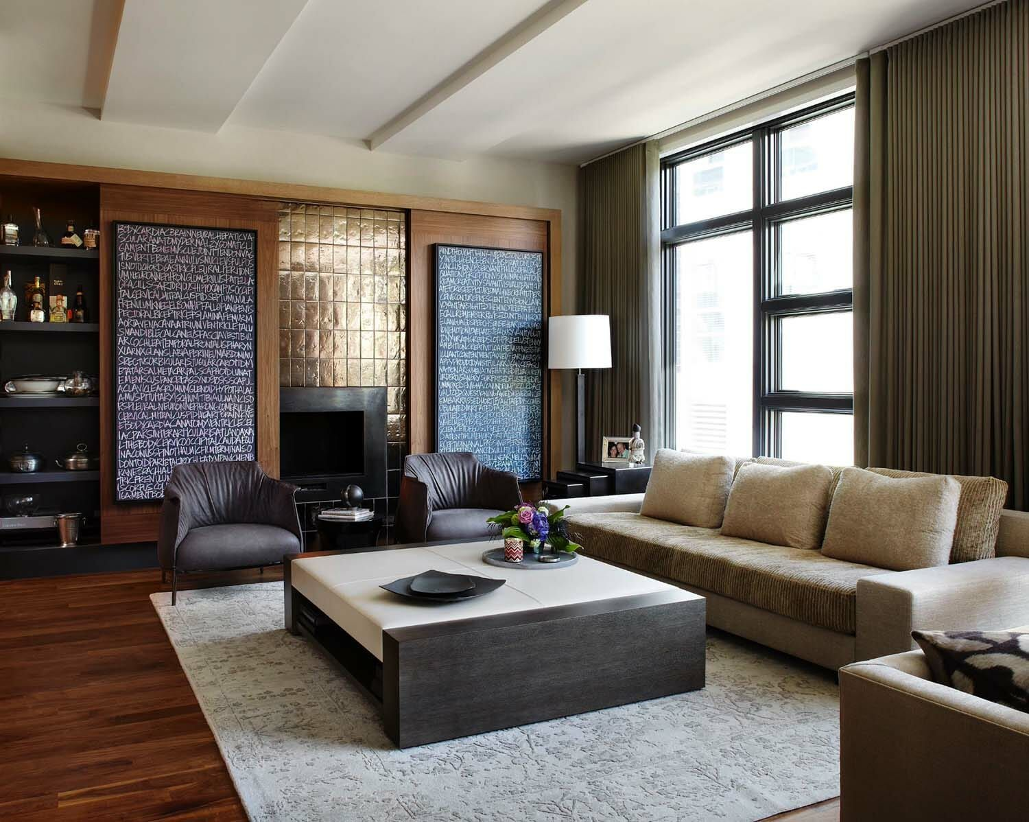 Multi-level Townhouse In Chicago Showcases Urban-chic
