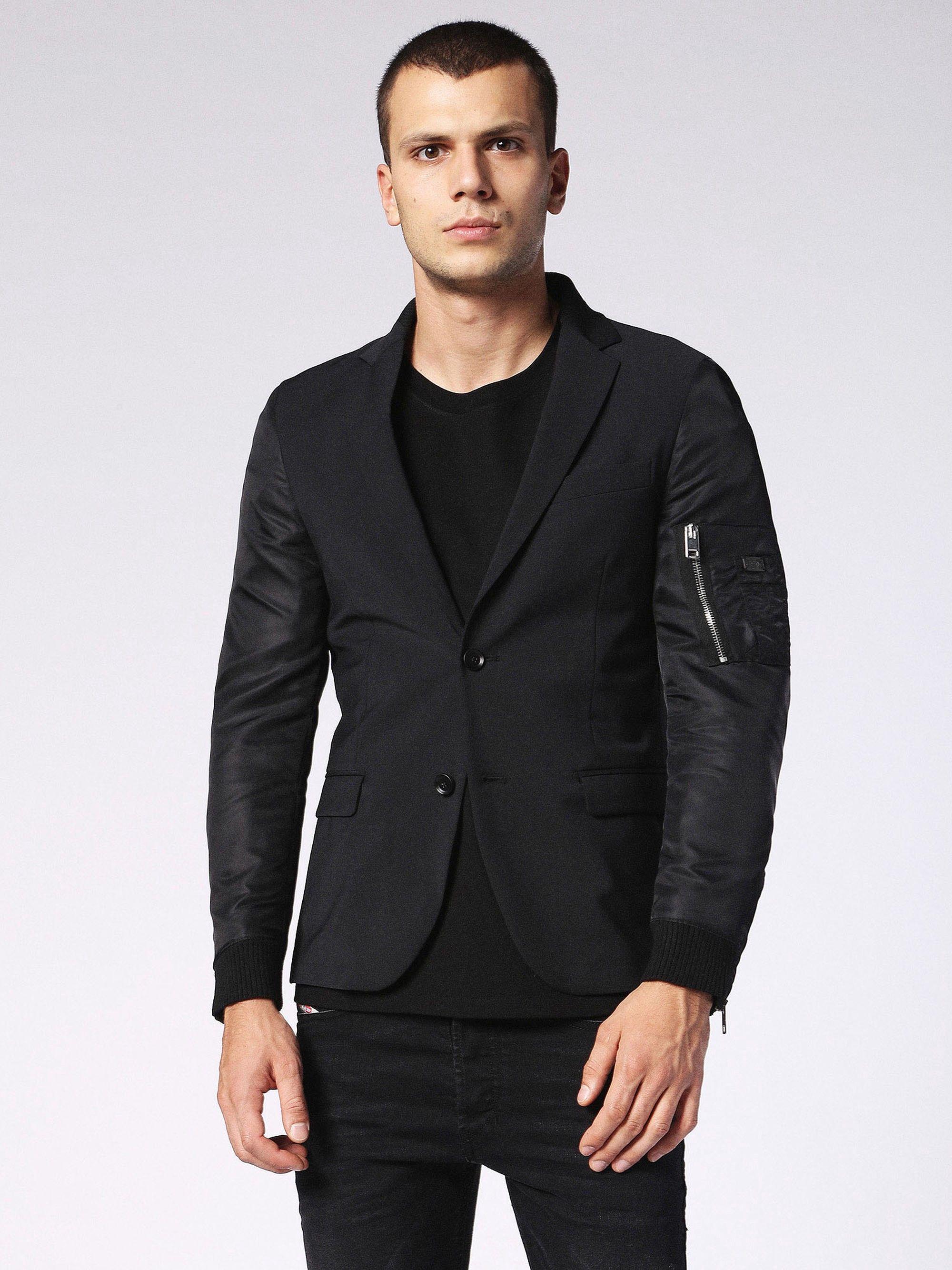 Diesel J Follyer Jackets Diesel Cloth Blazer Jackets Suit Jacket [ 2667 x 2000 Pixel ]