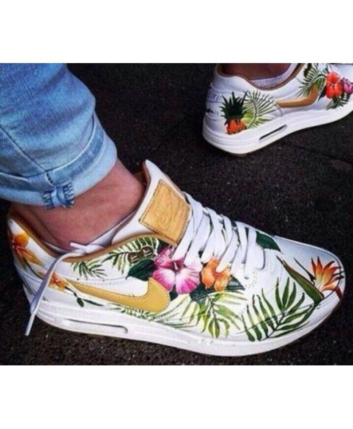 Womens Nike Air Max 90 Golden Floral