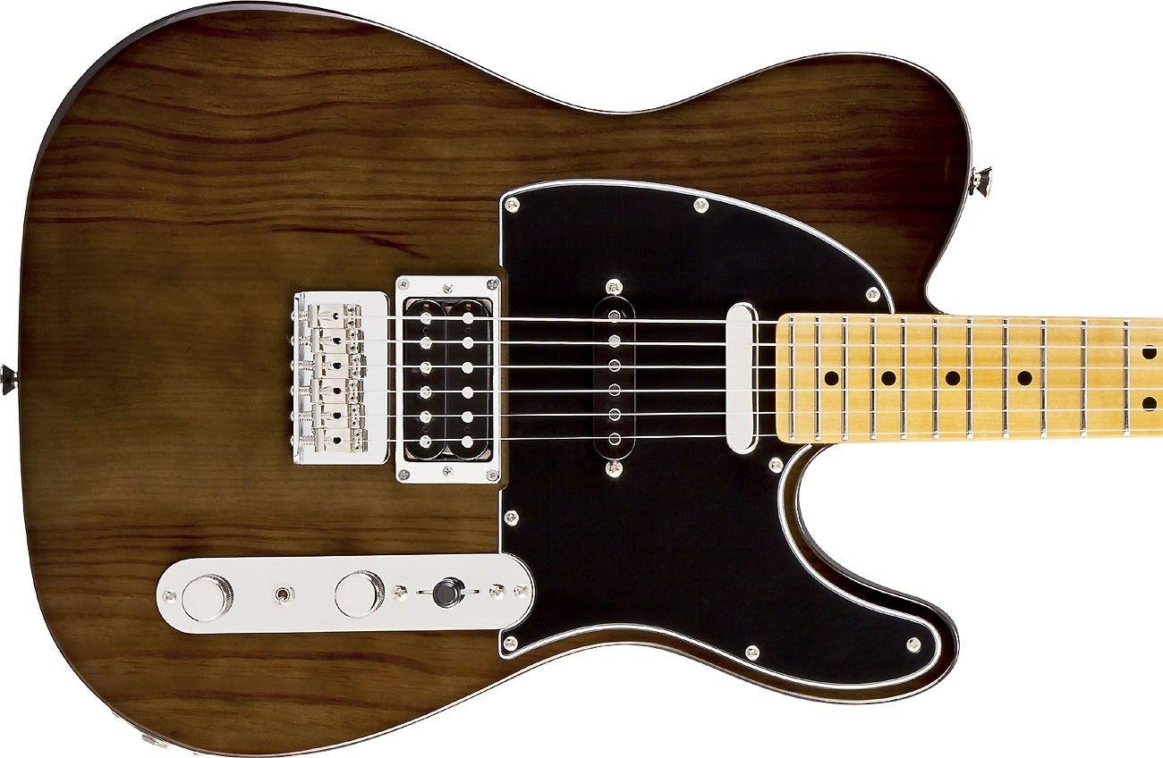 Fender Modern Player Telecaster Plus Charcoal Transparent Electric Guitar Guitar Fender Telecaster